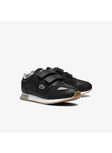 Lacoste Unisex Çocuk Partner 0721 1 Suc Sneakers 741SUC0012.231 Siyah